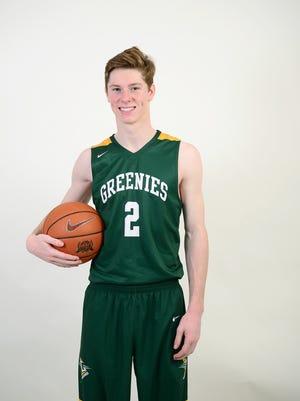 William Fleming is a senior on the Christ School basketball team.