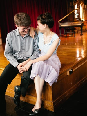 Ryan MacEvoy McCullough and Lucy Fitz Gibbon will perform Saturday in Cornell's Barnes Hall.