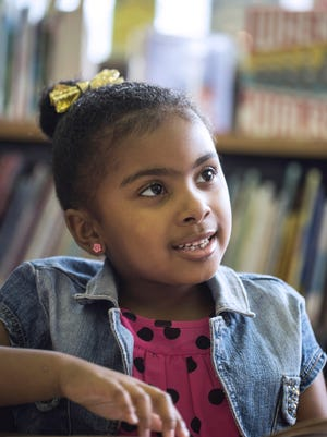 Five-year-old Zen Kweli has been to most of the Louisville libraries during her quest to complete the 1,000 Books Before Kindergarten Challenge. She successfully completed the Louisville Free Public Library's challenge this past summer and continues to read books daily.