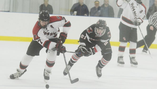 Peter Cassidy (7) has 18 goals and 15 assists for Glen Rock.