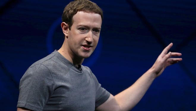 """""""I don't think we've seen a meaningful number of people act on that,"""" Facebook CEO MarkZuckerberg said last week of the #DeleteFacebook chatter on Facebook and other social media. """"But, you know, it's not good."""""""