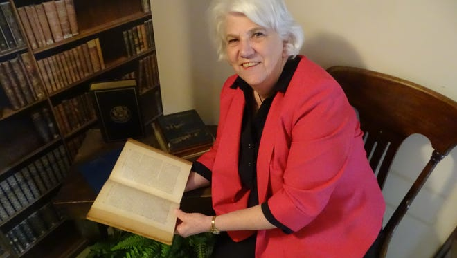 Becky Hill, in her 33 years as a librarian at the Rutherford B. Hayes Presidential Library and Museums, has overseen the transition from card catalogs to websites and Internet searches.