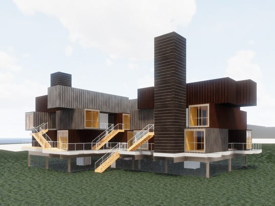 Proposed homeless housing 1