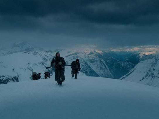 "The only shots on screen in ""The Revenant"" that were"