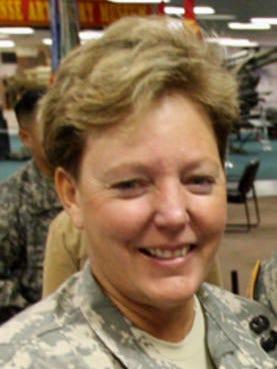 Col. Heidi Brown in 2011