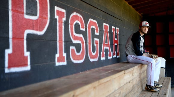 Pisgah senior pitcher Mason Herbert survived a life-threatening ATV accident as a middle school student. He had to have multiple surgeries and still has metal plates in one side of his face, but nothing has stopped him from his love of baseball.