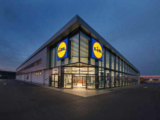 A Lidl store in Europe.