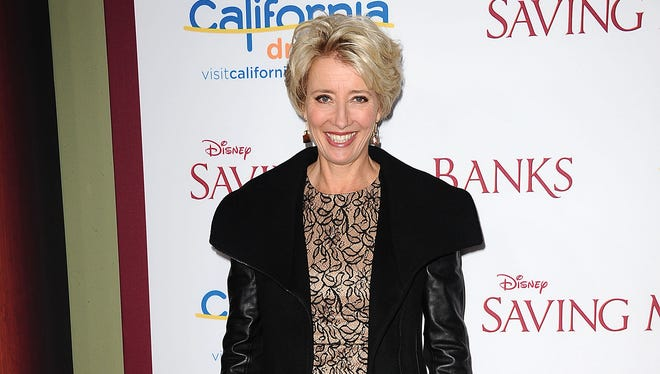 Emma Thompson at the premiere of 'Saving Mr. Banks' on Dec. 9.