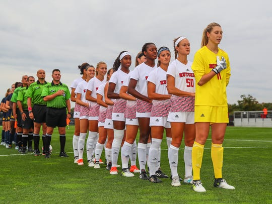 The Rutgers University women's soccer team is hosting