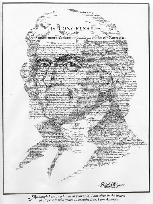 Title: Thomas Jefferson July 4, 1776 United States of America Haynie