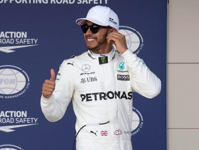 Lewis Hamilton, born on Jan. 7, 1985 in Stevenage,