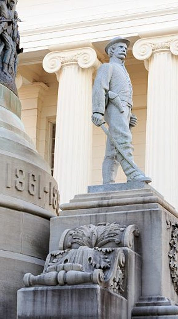 Confederate Memorial, Alabama State Capitol;