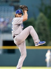 Clayton Kershaw leads the NL with six wins.