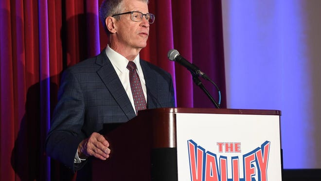 Missouri Valley Conference commissioner Doug Elgin is retiring at the end of this academic year.