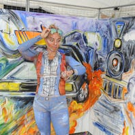 Thousands crowd Plymouth streets for annual art fair