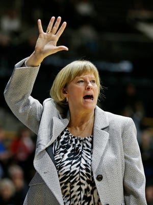 Coach Sharon Versyp's Boilermakers are currently a 10 seed in an ESPN analyst's NCAA women's basketball tournament bracket.