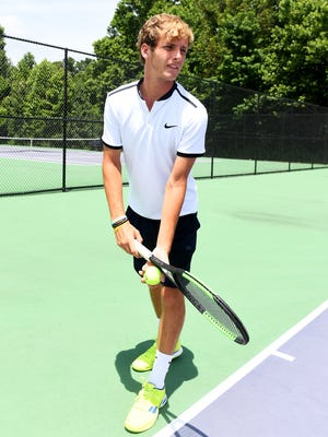 The 2017 All-West Tennessee Boys Tennis Player of the Year is TCA's Benjamin Sidwell.