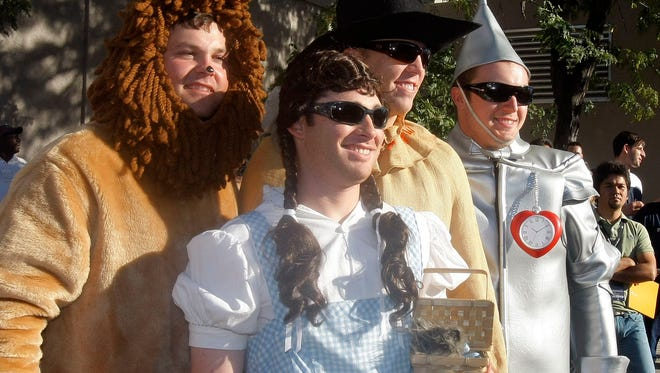 "In, 2007 Yankees rookies donned ""Wizard of Oz"" costumes, including Ian Kennedy as Dorothy."
