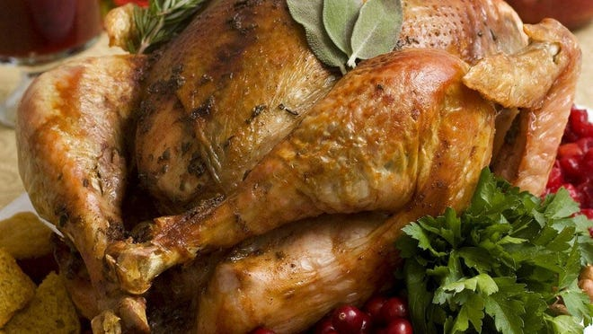 Turkey is the center of attention for most Thanksgiving Day meals.