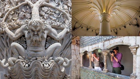 Details at Pena Palace