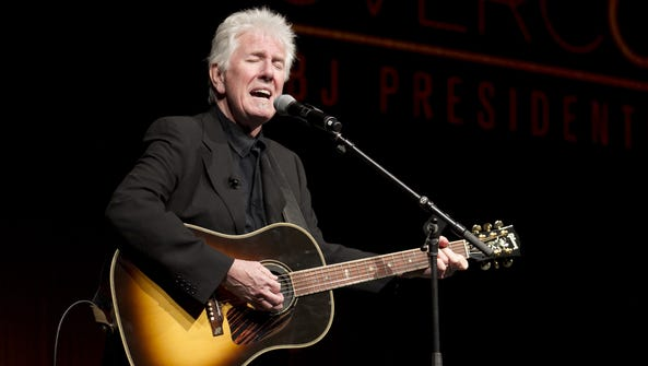 Rock and Roll Hall of Famer Graham Nash will perform