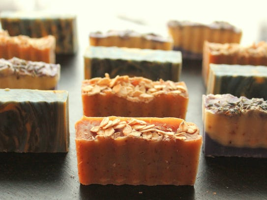 Soap-making is a creative endeavor with a worthy product