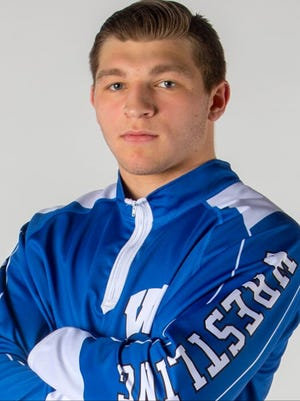 Williamstown senior 195-pound wrestler Bryan Martin.