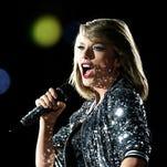 Taylor Swift in Australia.