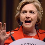 Hillary Clinton claimed to have run across the tarmac in Bosnia under sniper fire.