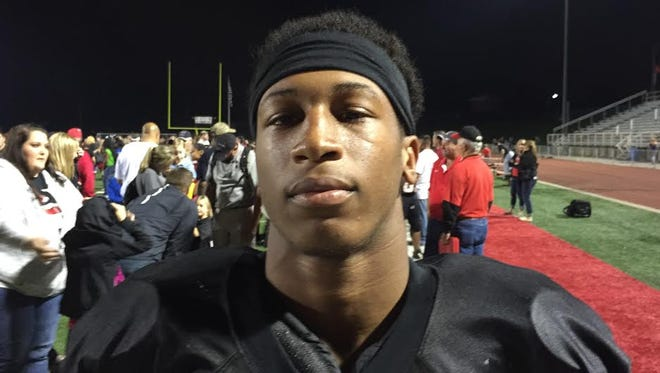 Colerain's Amir Riep will be one of four local football players heading to the Nike combine this week.