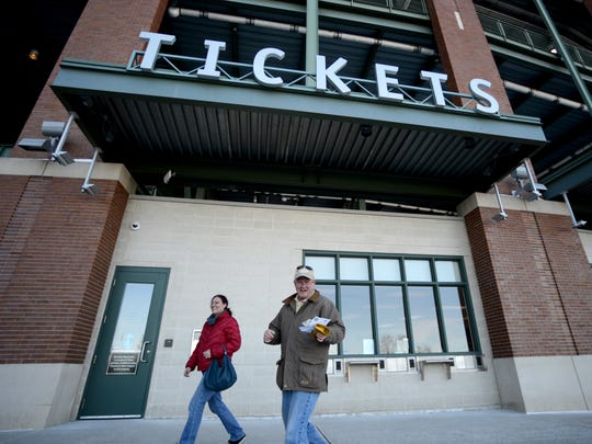 The Green Bay Packers raised season-ticket prices an average of 3.1 percent for 2019, but individual increases varied, with sideline tickets going up more than end zone tickets. Overall, increases were less than last year.
