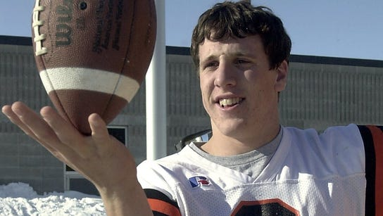 Current Minnesota Vikings linebacker Chad Greenway