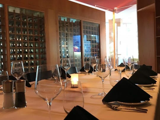 Ursino Steakhouse & Tavern's private dining room can accommodate groups of up to 12 people.