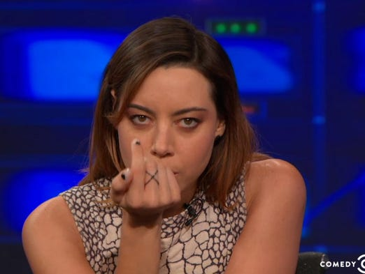 Wilmington-born actress/comedian Aubrey Plaza on Comedy Central
