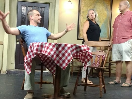 "Local playwright and director, H.G. Brown debuts ""The"