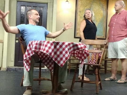 "Local playwright and director, H.G. Brown debuts ""The Lady Swims Today"" at the Pineapple Playhouse. Photo provided by H.G. Brown."