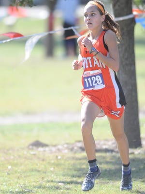 Rotan freshman Shaylin Kendrick finished second at the Class 1A girls state cross country meet Saturday in Round Rock. She finished her first state meet with a personal-best 12:03.09. Spur's Izabelle Smith won the race in 11:49.75.