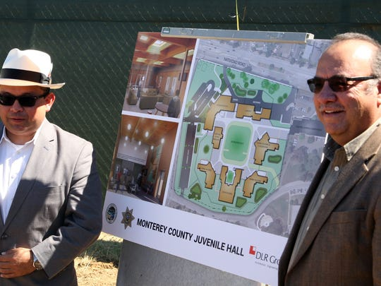 Supervisors Luis Alejo and Simon Salinas, Groundbreaking at the site of Monterey County's new juvenile hall