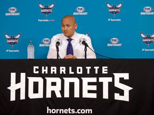 Rich Cho as GM of the Hornets.