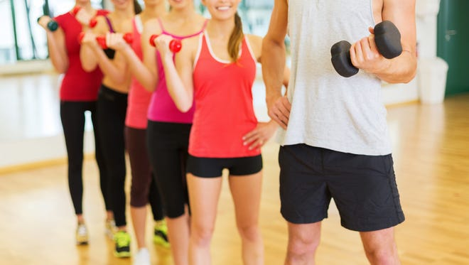 If motivation is a challenge, see if there is a class at the time you'e going to be at the gym, and sign up. Let someone else plan your workout, fitness specialists suggest.
