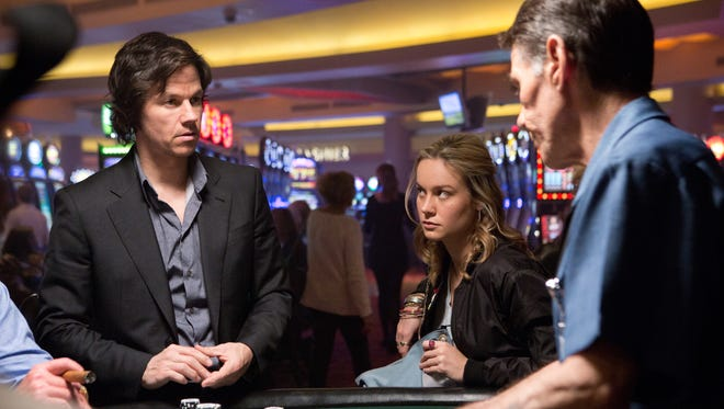 """Mark Wahlberg and Brie Larson in """"The Gambler."""""""