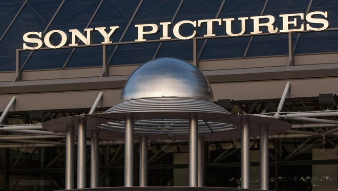 Sony Pictures Plaza building in Culver City, Calif.