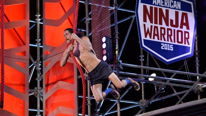 Isaac Caldiero became the first to complete the 'American Ninja Warrior' obstacle course in seventh-season, 2015 finale.