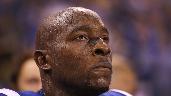 """""""Can I? Will I? Will I want to?"""" In his year away from football Robert Mathis questioned himself like never before."""