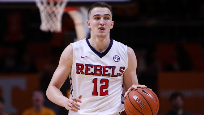 Former Ole Miss forward Tomasz Gielo will play for the Philadelphia 76ers' summer league team next week, Gielo's agency tweeted Wednesday.