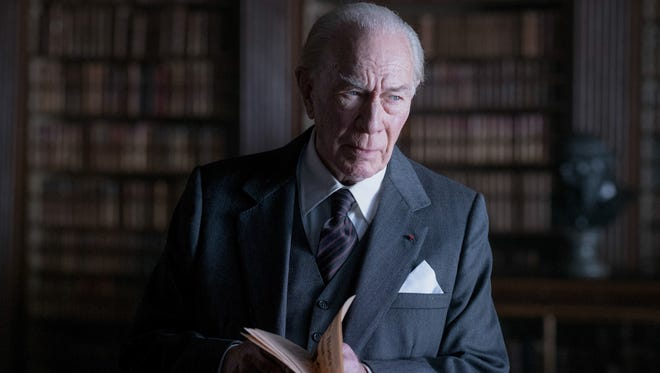 """Christopher Plummer is J. Paul Getty in """"All the Money in the World."""" The movie opens Dec. 25at Regal West Manchester Stadium 13, Frank Theatres Queensgate Stadium 13 and R/C Hanover Movies."""