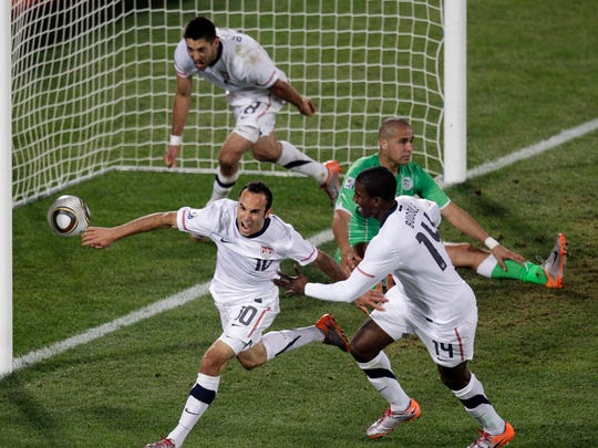 2010 World Cup - Landon Donovan's stoppage time goal