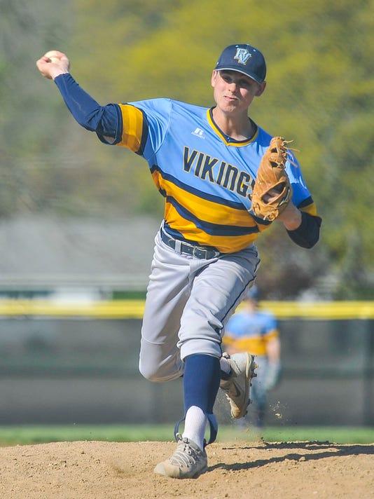 Bryon Doubikin River Valley baseball pitcher