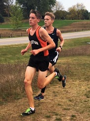 Jack Spamer (front) is one of three sophomores who