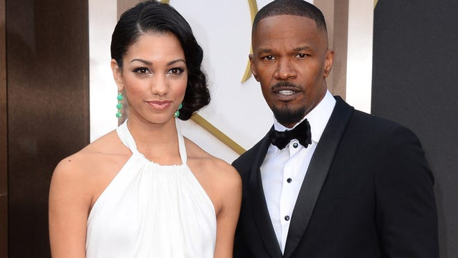 Jamie Foxx and daughter Corinne in March 2014.
